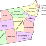 Albany County Radon Test Statistics